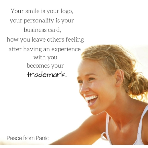 Your smile is your logo,